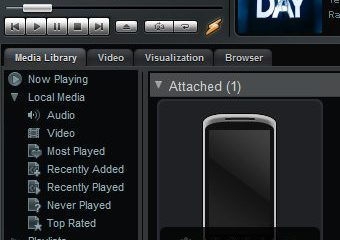 nexus one sync - Tutorial: sincronize as músicas do seu computador com seu celular via rede Wi-Fi com o Winamp