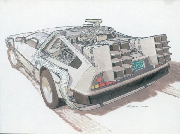 IMAGENS: Back to the Future II Concept Art 7