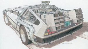 concept drawings back to the future 0 - IMAGENS: Back to the Future II Concept Art