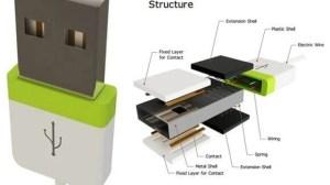 Novo modelo de plug USB pode encaixar dos dois lados 5
