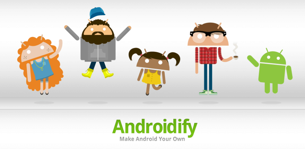 Android ify - Androidify App: transforme-se num Android animado!