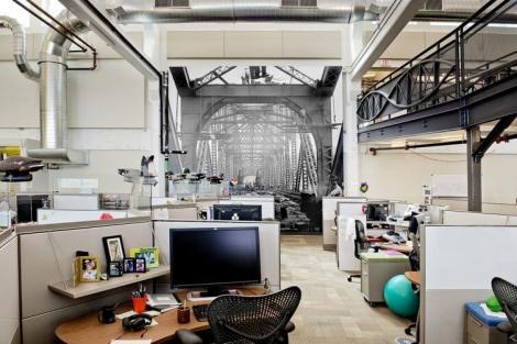 "Google Pittsburgh 4 PittsburghThemedElements - Design: Google apresenta seu escritório ""Not-Evil"" em Pittsburgh"