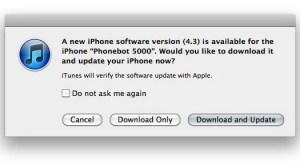 iOS 4.3: liberado para atualização 10