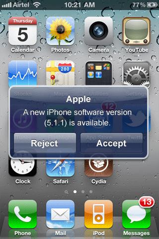 Apple iPhone OTA Updates - Updates over-the-air nos futuros iOS?