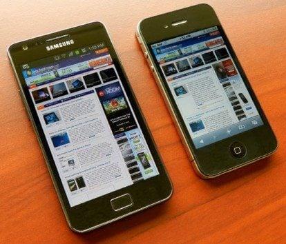 galaxy s 2 and iphone 4 - Samsung pede que Apple apresente seus novos iPhone 5 e iPad 3 em processo