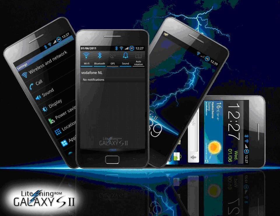 Litening Rom v4.0 XXKG3 - Lite'ning Rom v5.0 XXKG6: nova atualização para o Galaxy S II