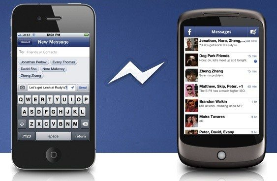 facebook messenger2 - Facebook anuncia app específico para mensagens para iOS e Android