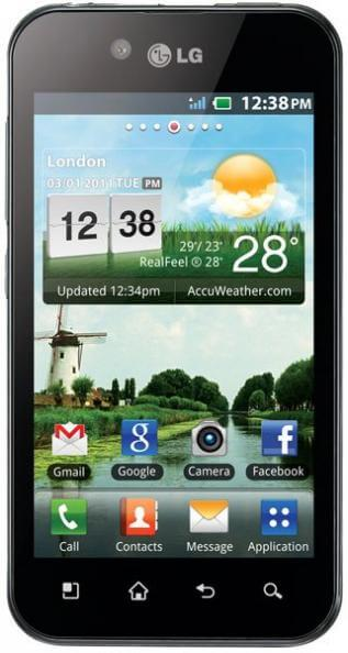 LG Optimus Black 1 - Review: LG Optimus Black