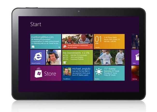 Samsung Windows 8 tablet - Samsung e Nokia também fabricarão tablets com Windows 8