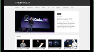 Brasileiro cria site apresentações de Steve Jobs 14