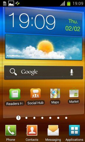 I9100XXLPB8 - Vaza nova versão da ROM do Android 4.0.3 Ice Cream Sandwich para o Samsung Galaxy S II