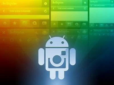 ig android dribbble - Instagram para o Android inicia inscrições