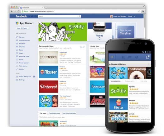 Facebook App Central - Facebook anuncia Central de Aplicativos (iOS, Android, web, mobile e desktop).