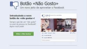 Botão Dislike no Facebook é falso 13