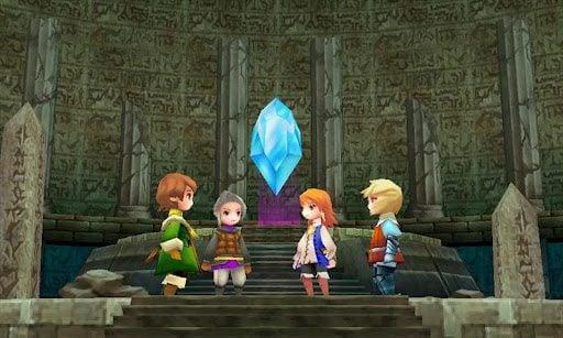 Final Fantasy 3 Android 1 - Game Final Fantasy III chega ao Android