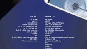 Novo anúncio da Samsung faz comparação com o iPhone 5 11