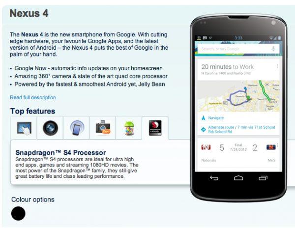 nexus4carphonewarehouse 600x464 - Vazam imagens renderizadas do LG Nexus 4