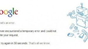 Google cai e usuários reclamam na internet 10