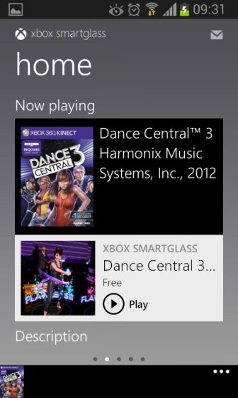 Screenshot 2012 11 16 09 31 371 - Review: Xbox SmartGlass para o Android, iOS, Windows Phone e Windows 8