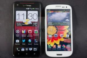 HTC Droid DNA x Samsung Galaxy SIII - Comparativo: HTC Droid DNA x Samsung Galaxy SIII