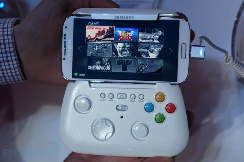 Samsung mostra protótipo de gamepad sem fio 7