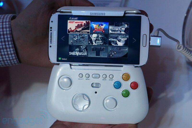 Samsung mostra protótipo de gamepad sem fio 5