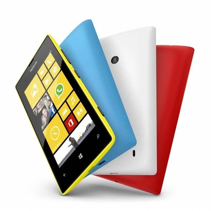 700 nokia lumia 520 yellow cyan white red - Nokia Lumia 520 chega ao Brasil por R$ 599