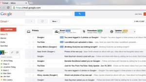 New Gmail inbox web 002 - Tutorial: como ativar as novas abas do Gmail