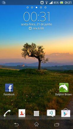 Xperia ZQ Android 4.2.2 Showmetech Jelly Bean (2)