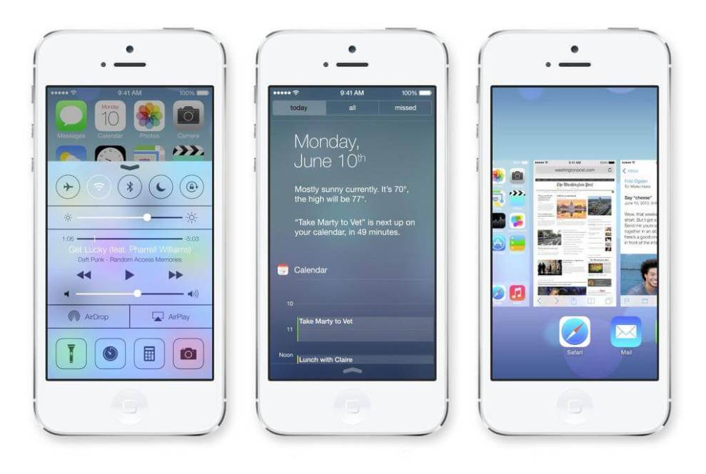 apple ios 7 iphone 5 - Vídeo demonstra os novos recursos do iOS 7 num iPhone 5