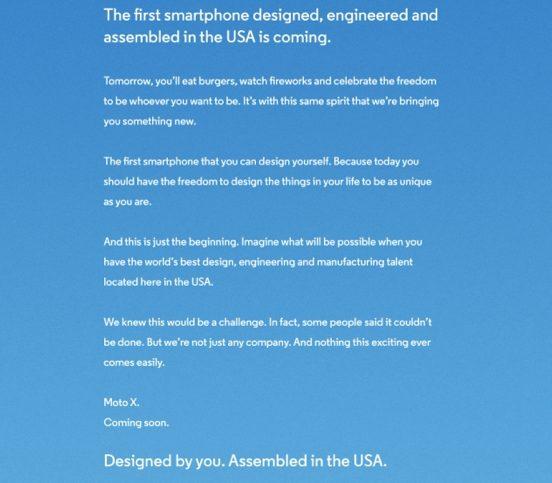 Captura de Tela 2013 07 03 às 19.01.17 - Motorola divulga anúncio do smartphone Moto X