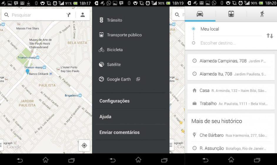 Google Maps para Android é atualizado
