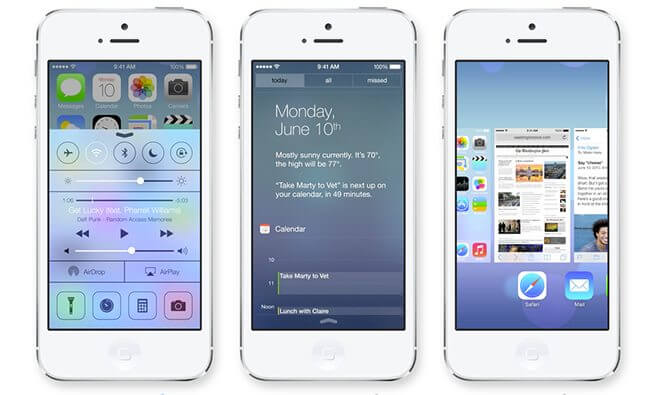 iOS 7.1 já está disponível para iPhone, iPad e Ipod touch 4