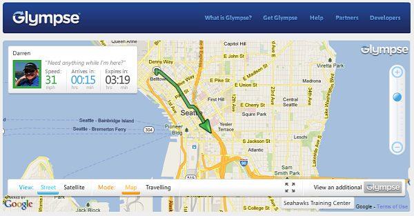 glympse 1 - Meus Apps Favoritos para Android (Diego Toda)