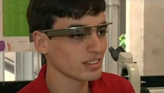 Brasileiro é escolhido para testar o Google Glass / reprodução Band