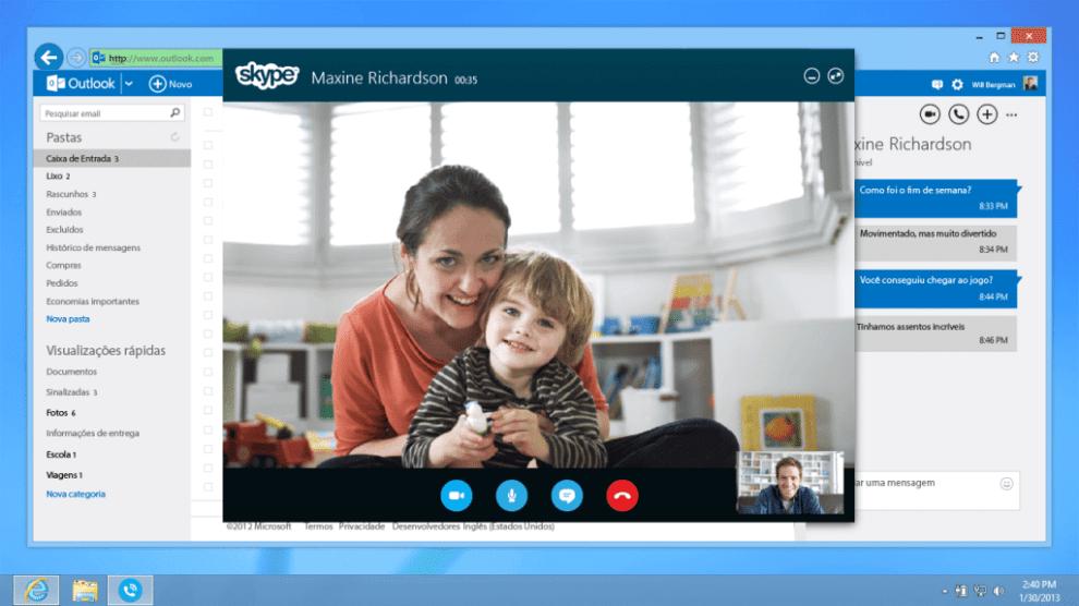 Chamadas Skype pelo Outlook.com são liberadas no Brasil 4