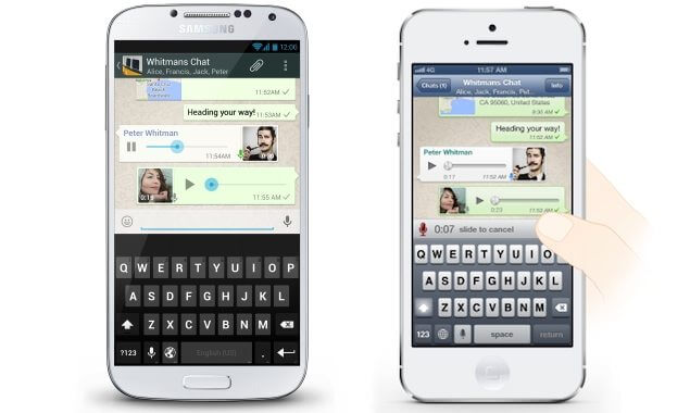 WhatsApp ganha recurso de voz para Android/iOS/BlackBerry e Windows Phone 5
