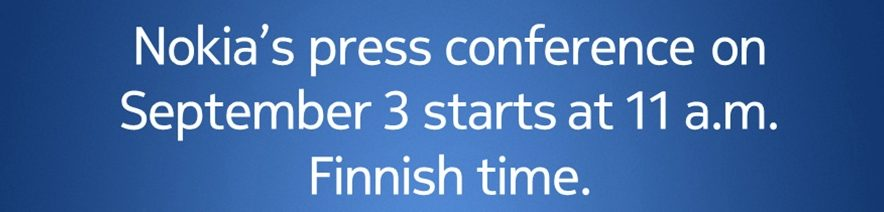 Nokia convoca coletiva de imprensa para divulgar detalhes da transação / reprodução