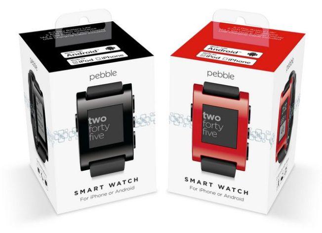 Smartwatch Pebble / reprodução