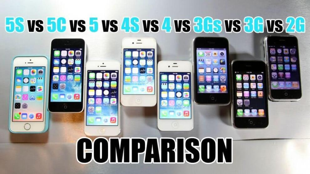 Vídeo compara todos os iPhones já lançados pela Apple 8