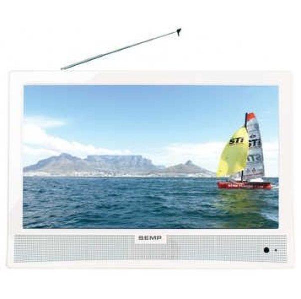 """LED TV 14"""" DTV LE1474W Semp Toshiba / reprodução"""