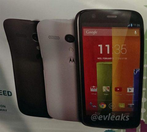 Eveleaks vaza imagem do Moto G - Motorola vai apresentar o Moto G no dia 13 de novembro