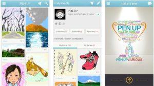 Samsung lança rede social Pen.Up 9