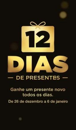 iTunes faz promoção para 12 dias de presentes