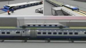 trem que nunca para chen jianjung showmetech - Designer chinês mostra trem que nunca pára