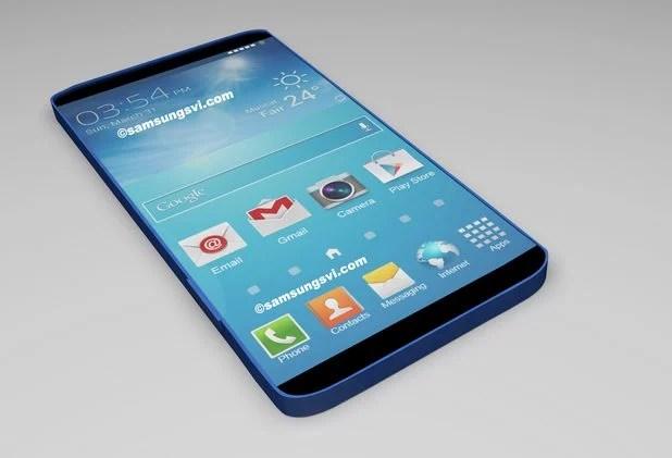 Desenho de como pode ser o Samsung Galaxy S5 / reprodução