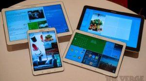 Samsung Galaxy NotePro e TabPro