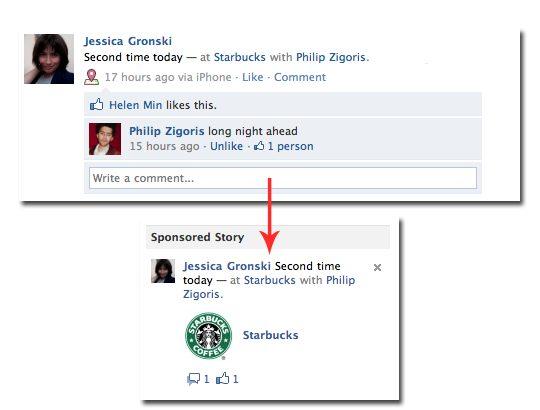 sponsored stories - Facebook: fim dos posts patrocinados