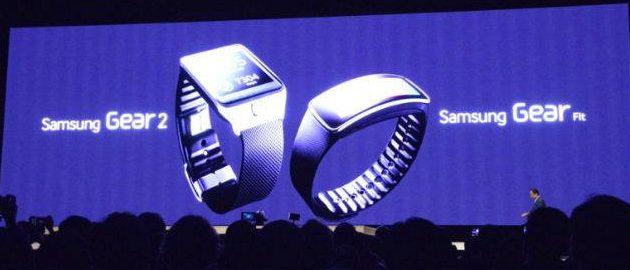 Galaxy Gear 2 e Galaxy Fit