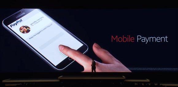 Leitor de digitais do Samsung Galaxy S5